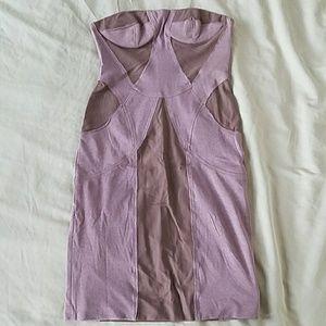 Stella McCartney Strapless Bustier Dress